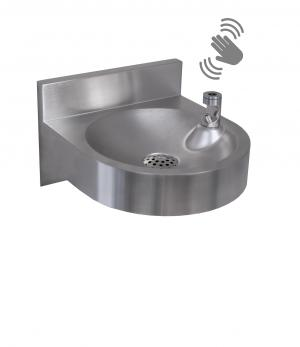 FONT10BCL Wall-Mounted Drinking Fountain With Contactless Bubbler