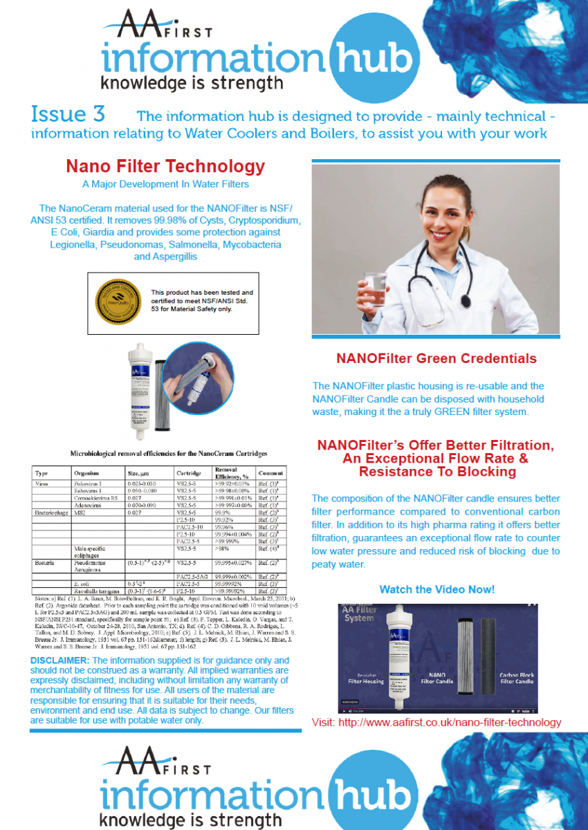 Issue 3 - Nano Filter Technology